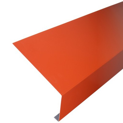 Алюминиевый пояс карниз желобной 20cm x 2mb