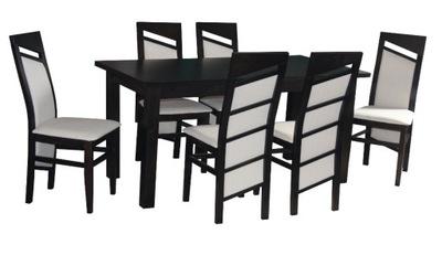 стол 90 /160/200 + стулья 6шт стол СО СТУЛЬЯМИ