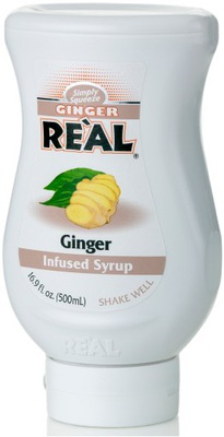 Джинджер Real пюре сироп имбирное, Имбирь