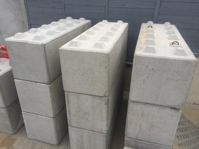 Блок бетонный, Стена сопротивление