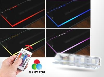 Osvetlenie nábytku LED pás - ZESTAW 2KLIPS RGB DESIGN LIGHT+PILOT
