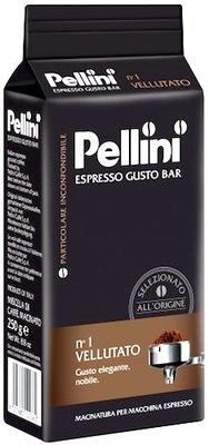 Pellini ЭСПРЕССО VELLUTATO N1 кофе молотая 250Г
