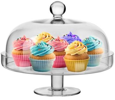 Slúži stojan s krytom v tortu a koláče STROJ Elite ⌀28 cm