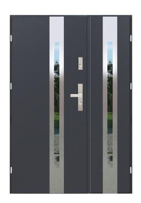 двери Внешние F01 DUO140 ГР.55MM ТЕПЛЫЕ