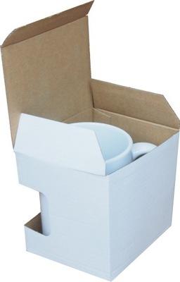 коробка Кружка бумажная коробка с окошком 100 штук .