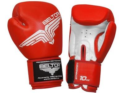 BELTOR Boxerské Rukavice 12 oz štandardnej TRECIE
