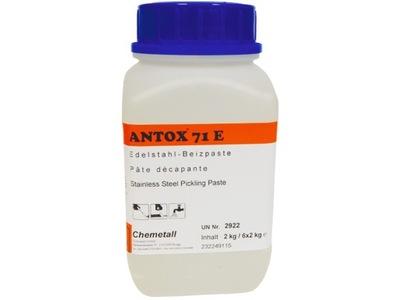 паста ANTOX Гель для нержавеющей стали, для травления Inox 2 кг