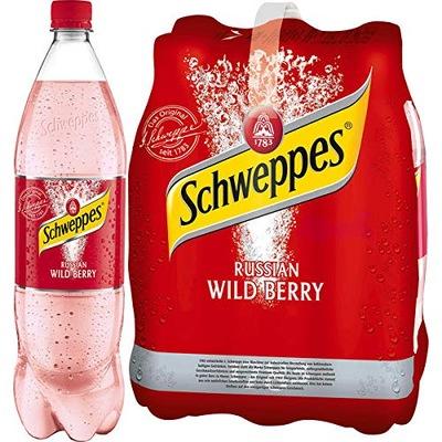 Schweppes Russian Wild Berry из Германии