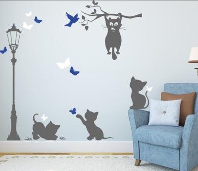 Šablóna na maľovanie stien - Šablóny pre plachetnice CATS CATS CAT CATT