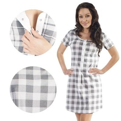 Koszula Ciążowa Karmienia Italian Fashion ANETA L  pc85T