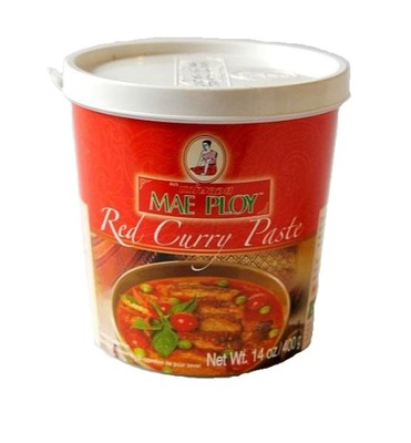паста Red Карри Тайская красная Mae Ploy 400г