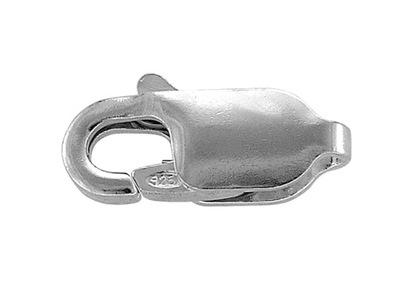 карабин CHR11 серебро 925 Застежка 11 мм