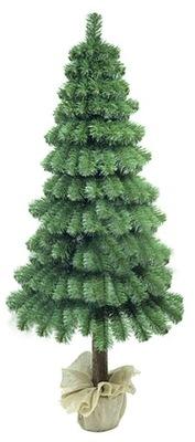 Vianočné stromčeky umelé Vianočné Stromčeky Borovicové ŠIŠKY na Pniu180cm ZDARMA