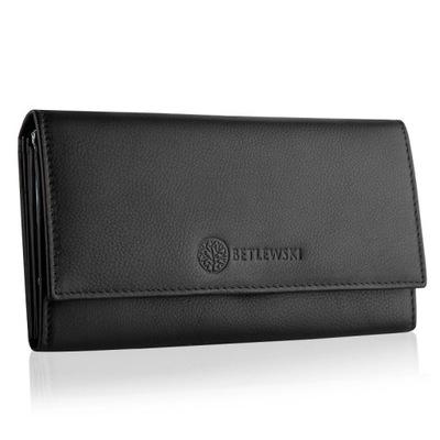 d24ee55865c1f Duży portfel damski skórzany Zagatto RFID 7633228877 - Allegro.pl