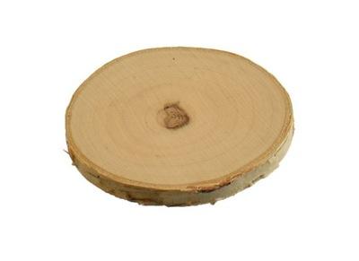 Náplasť z brezy, brezy podložka, leštené 8-10 cm