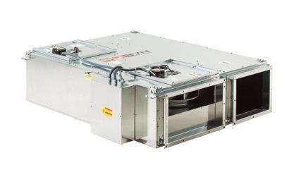 Prieduch výmenníka tepla BVN BGK 3000m3/h