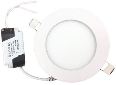 панель LED Для скрытого монтажа ПЛАФОН потолок 6W / 3 ЦВЕТА