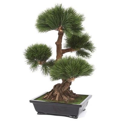krásne umelé BONSAI strom Cédrového dreva borovice 70 cm
