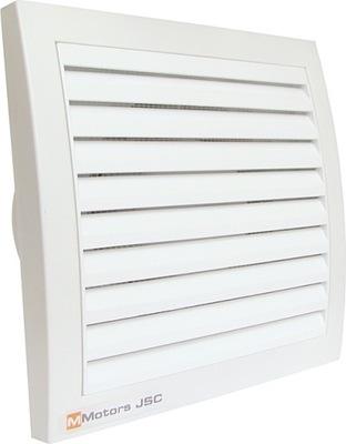 MMK100 námestie príruby 38 mm ventilátor pre kúpeľ