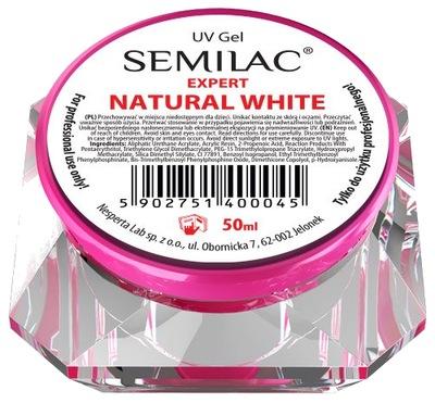 SEMILAC UV GEL Expert Natural White 50 ML