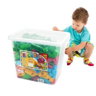 500 PODLOŽKY v krabici dizajn, veľké plastové
