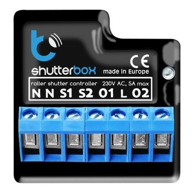 Vodič okenice rozvrhu Blebox Shutterbox wi-fi