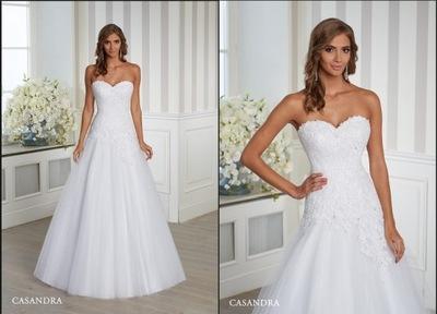 cf4941f615 WYJĄTKOWA SUKNIA ŚLUBNA EMMI MARIAGE!!!+ GRATIS - 7460175047 ...