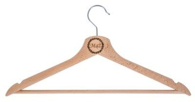 вешалка одежды с гравировкой подарок свадьба эко