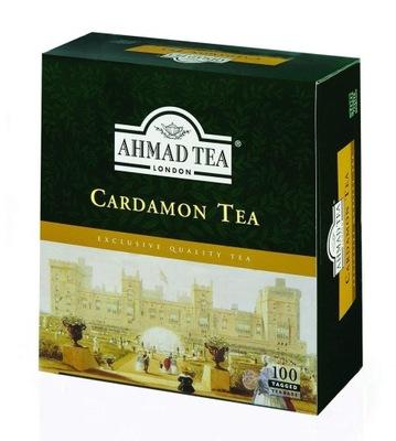 чай с KARDAMONEM Ахмад 100шт могут быть отправлены экспресс почтой Вкусно