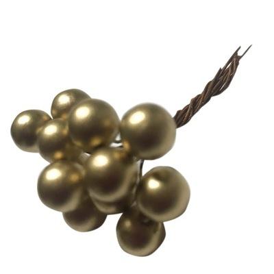 BOBULE GUĽA NA ZÁVIT - 12 kusov -GOLD