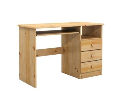 DSI-drevený nábytok Stôl 3S právo borovica
