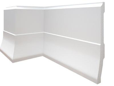 CREATIVA soklové lišty biele dosky LPC-35