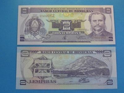 Гондурас Банкнот 2 Lempiras 1994 !! UNC P-72c
