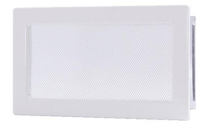 Mriežka biela 17x37 krb,vetranie-KVALITA