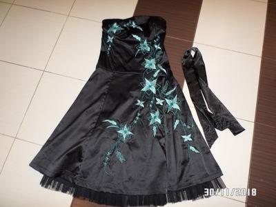 f457cbf4af24d9 śliczna czarna sukienka rozm. M Faliza - 7402290257 - oficjalne ...