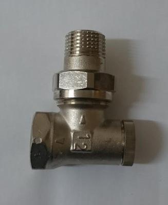 Uholová zarážka, spätný ventil, dolná 1/2 'HERZ