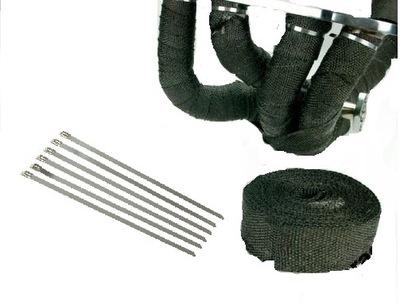 Повязка тепловая лента на выхлоп коллектор + повязки