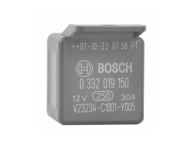 Bosch 0 332 019 150 РЕЛЕ 30А 12В Renault