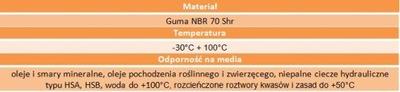 Oring uszczelka 99x3,5 70NBR