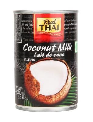 Молоко Кокосовое 400 мл Молочко Real Thai 400 мл