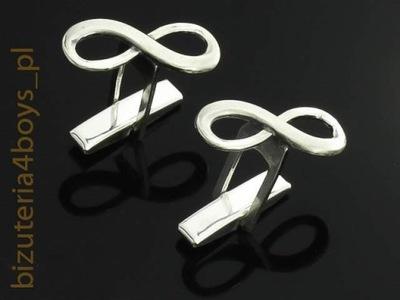 c970b5207127 Designerska srebrna spinka do krawata   INFORMATYK - 7259995481 ...