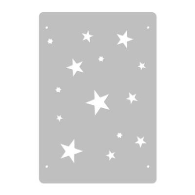 шаблон малярный многократной // 45x65cm / звезды