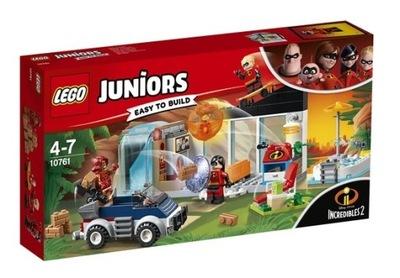 LEGO 10761 JUNIORS - UCIECZKA Z DOMU INIEMAMOCNI 2