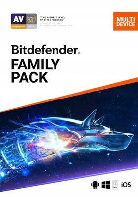 Bitdefender Family Pack 2021 / 1 rok