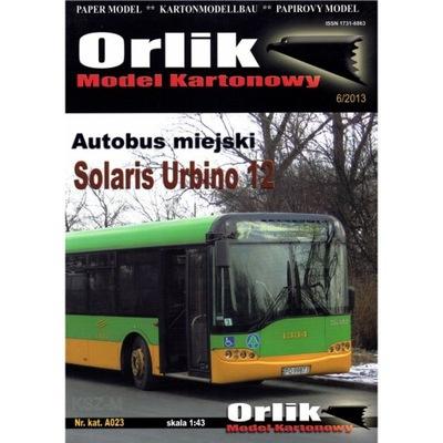 Орлик A023 - Автобус Солярис Урбино 12 1 :43