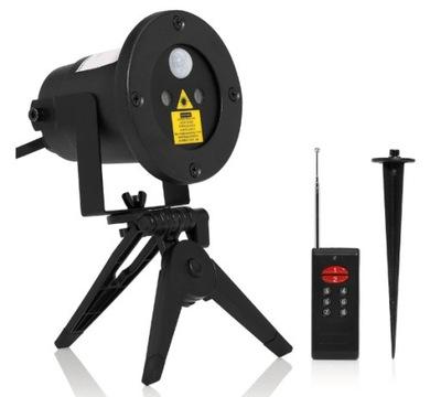 Laserový projektor  - Laserový projektor LIGHT STAR so snímačom pohybu