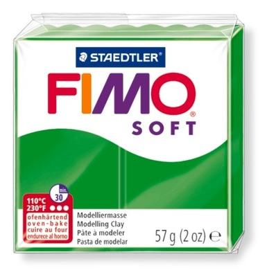Масса Пластическая FIMO Soft 57g зеленый Пятьдесят три