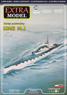 MODEL_Okręt instagram HMS ? .И 1 :100