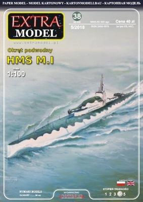 EXTRA MODEL_Okręt podwodny HMS M.I 1:100