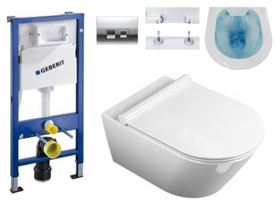 Set do kúpeľne a WC - GEBERIT UP100 MISA WC SONET RIMLESS DUROPLAST